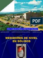 Medidores de Nivel en Solidos v 2010