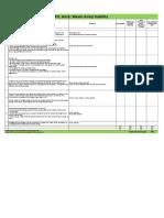 Pir Stability Audit Check List V2