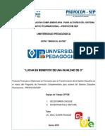 Trabajo Final Diplomado en Gestion Educativa 4ta.v Docx