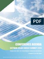 conference agenda vietnam solar energy summit