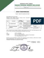 Surat Rekomendasi PKD GP Ansor
