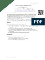 Experiment Sheet - Mastering Digital Design ALL