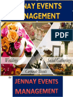 Events Management Plan Outline