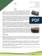 Evolving energy - write up on Lithium batteries