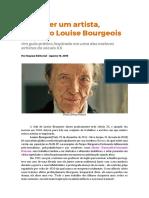 Como ser um artista - Louise Bourgeois.pdf
