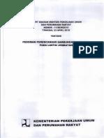 Surat Edaran Menteri 2015 Pedoman Perencanaan Sambungan Jembatan.pdf