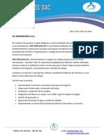 Carta de Presentacion Ac Technology s.a.c.