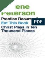 3 Livros Eugene Peterson