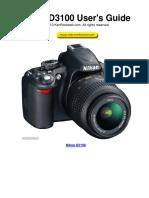 Nikon D3100 User