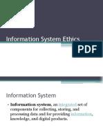 Information System Ethics