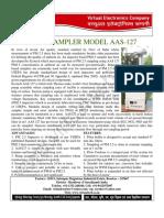 PM 2.5 Air Sampler