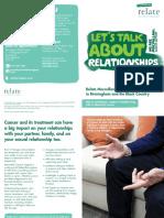 Relate Macmillan Service Leaflet