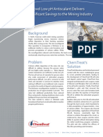 A Novel Low Ph Antiscalant Delivers Signficant Savings to the Mining Industry
