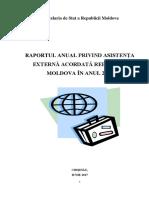 Asistenta externa Republica Moldova 2016