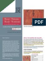 ManyVisionsMany VersionsTeachersGuideWeb