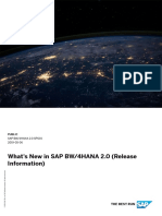 SAP Bw4HANA NEWS