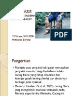 Filariasis Untuk Mhsw d4