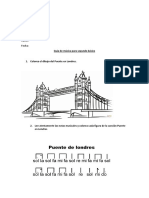 Guía Segundo Básico Puente en Londres