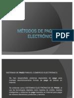 Métodos de pago electrónico