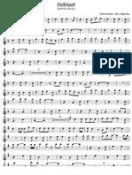 Halellujah violino