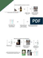 identificacion de macromoleculas diagrama de flujo