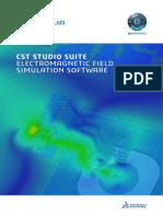 SIMULIA CST Studio Suite Brochure 2019
