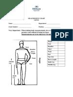 Uniform Measurement ChartM