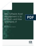 Why Software Asset Management is So Difficult