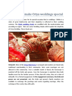 Rituals That Make Oriya Weddings Special