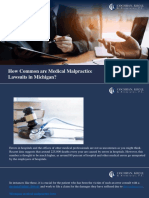 How Common are Medical Malpractice Lawsuits in Michigan?