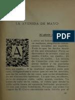 Gómez Carrillo. Encanto de Buenos Aires (fragmento)