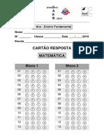 Cartao_Resposta (9º Ano) MAT 83