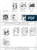 Architectural Plans of Three Storey Residential
