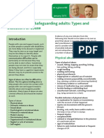 Ataglance69 Adult Safeguarding Types and Indicators of Abuse