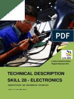 Technical Description Electronics