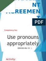 Pronoun-Antecedent Rules Joysm