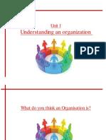 Unit 1- Understanding an Organization-1