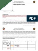 Planificación Curricular Anual- Modelo