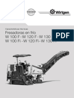 FRESADORA WIRTGEN W100F