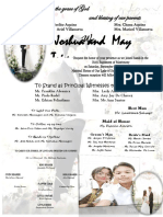 May Trixcy Wedding Invitation