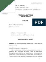 Interlocutòria del jutge Llarena per reactivar l'euroordre de Puigdemont