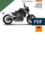 Duke 690 Manual