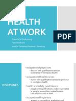 06- Health at Work