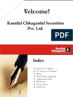 Induction PPT of KC Securities