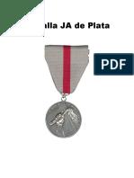 Medallon. De plata