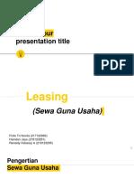 Sewa Guna Usaha (Leasing)1