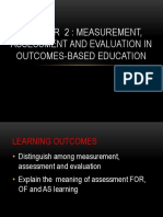 Chapter 2 Assessment 1 Midterm Lesson
