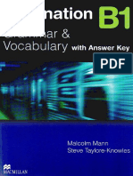 Destination b1 Grammar and Vocabulary With Answer Key Compressed