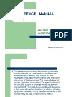 EDX3600 Service Manual New