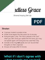 shared inquiry set-up